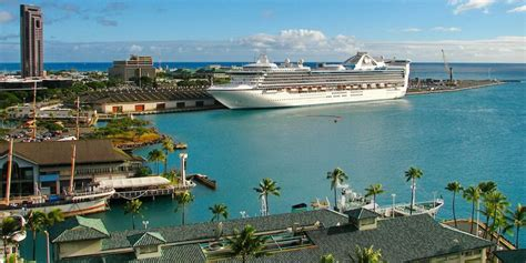 Ship Port by Honolulu Port Cruise Ships Fitbudha