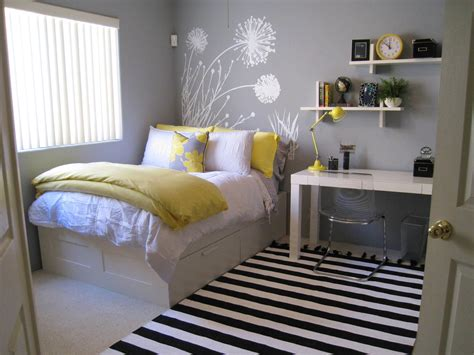 45 Inspiring Small Bedrooms …  For The Home Bedro…
