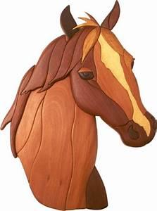 Horses Head Intarsia Pattern