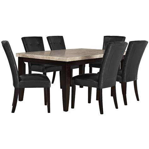 monark marble rectangular table