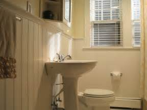 home improvement bathrooms with wainscoting