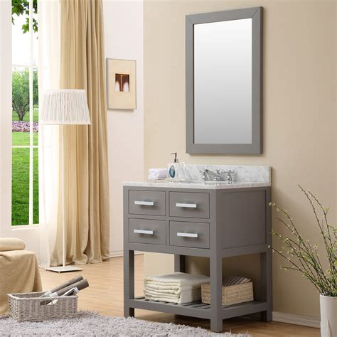 Cadale 30 Inch Gray Finish Traditional Single Sink