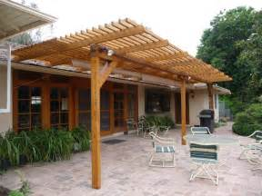 timbersil 174 glass wood patio trellis pacific palisades