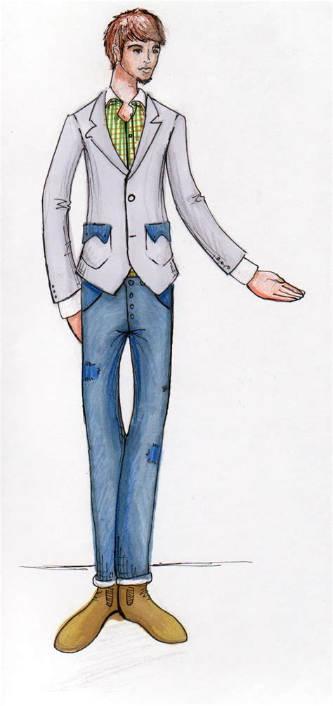 sean smiths fashion  graphics portfolio male figure
