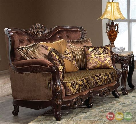 Formal Couches by Opulent Traditional Luxury Formal Sofa Set