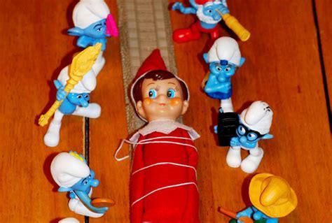 naughtiest elf   shelf