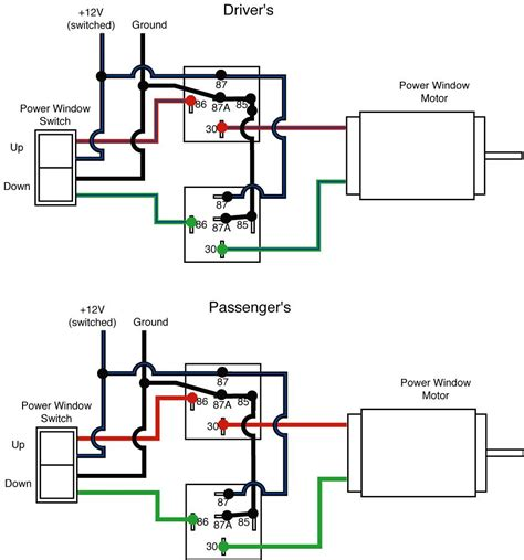 Typical Electric Motor Wiring by Freightliner Power Window Wiring Diagram Images