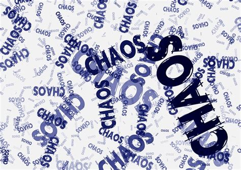 Images Of Chaos Kostenlose Illustration Chaos Ordnung Chaostheorie