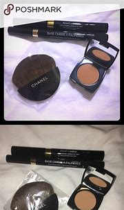 (4pc) CHANEL Makeup Bundle😍 One travel Brush (new), one ...