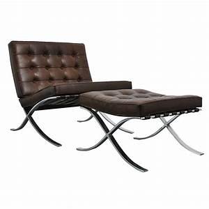 Mies Van Der Rohe Chair : mies van der rohe barcelona chair and ottoman knoll on antique row west palm beach ~ Watch28wear.com Haus und Dekorationen