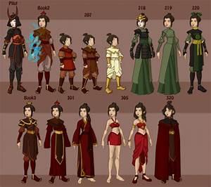 Avatar Charactersu002639 Wardrobe Avatar The Last Airbender