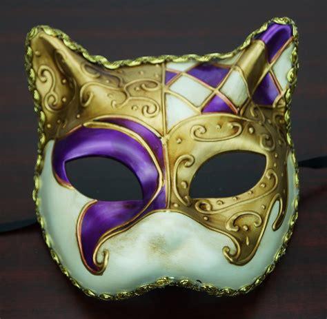 venetian cat mask traditional venetian cat mask purple