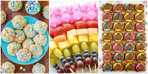 easter snack ideas 21 best easter snacks easy and cute ideas for easter snack recipes