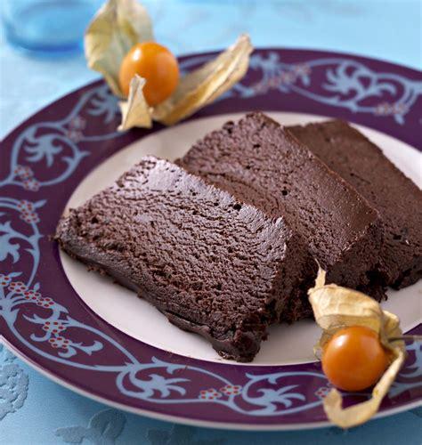 marquise cuisine marquise glacée au chocolat les meilleures recettes de