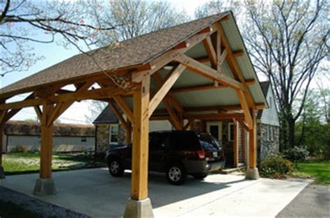 heavy timber porte cochere  east tennessee arts