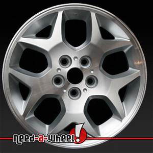 2000 2005 Dodge Neon wheels Machined Sparkle Silver rims 2129