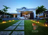 Modern 3D Bungalow House Design
