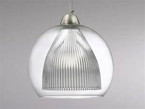 Suspension Globe Verre : luminaire design pour cuisine suspension en verre sampa ~ Teatrodelosmanantiales.com Idées de Décoration