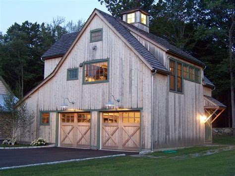 detached garage plans exterior traditional  gable