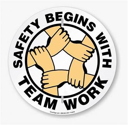Clip Safety Team Begins Teamwork Clipart Clipartkey