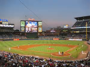 Atlanta Brave Stadium Turner Field