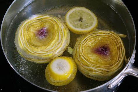 cuisiner fonds d artichauts parer un fond d 39 artichaut recette des artichauts