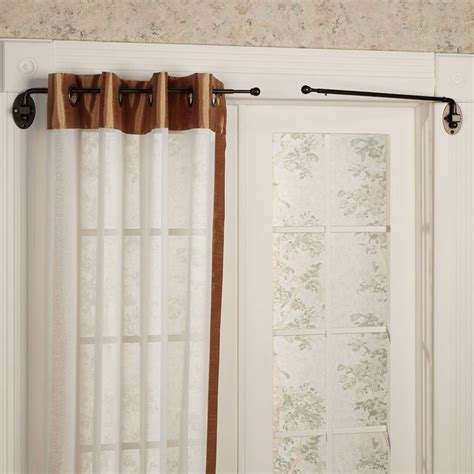 A Swing Arm Curtain Rod by Swing Arm Curtain Rod Home Interior Ideas