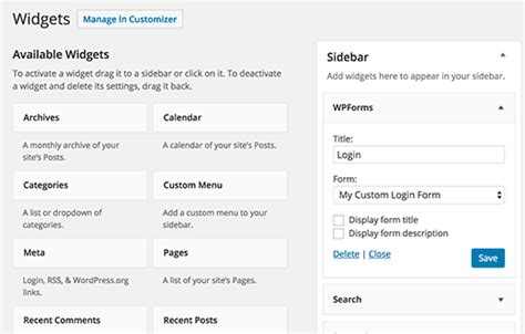 create  custom login page  wordpress