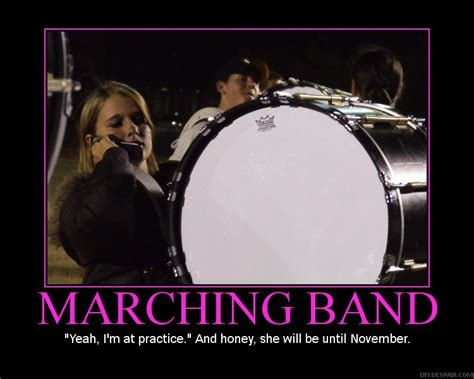 Band Practice Meme - marching band drumline quotes quotesgram