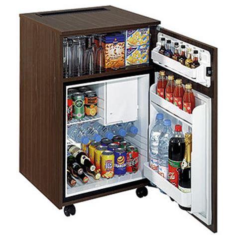 réfrigérateur de bureau 59l noyer luxe