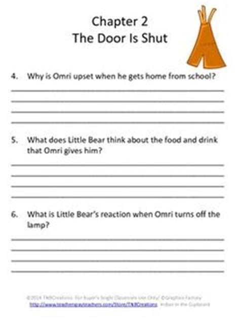 The Indian In The Cupboard Chapter Summaries by Indian In The Cupboard Reading Indian In
