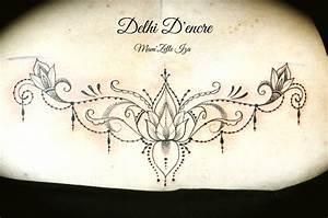 Tatouage Bas Dos Femme : tatouage femme dans le bas du dos kolorisse developpement ~ Nature-et-papiers.com Idées de Décoration