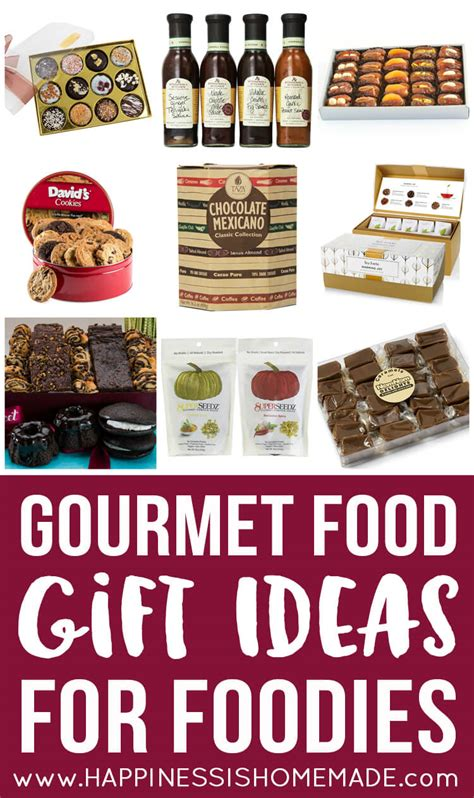 top gifts for a foodie family gourmet food gift ideas for foodies happiness is