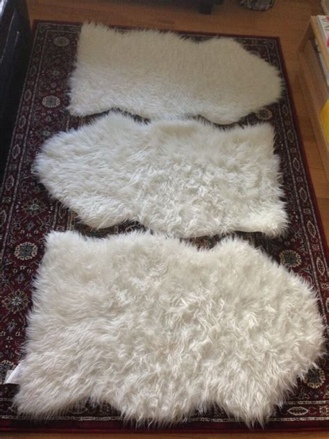 Sheepskin Rug Ikea by Ikea Tejn Faux Sheepskin Rug In Lambeth Gumtree