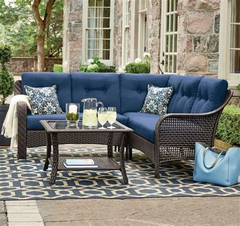 hometrends tuscany  piece sectional set walmart canada