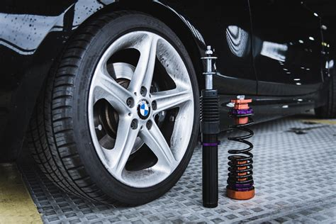 project  neo motorsport dynamic purple coilovers