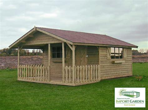 abri de jardin en bois classique import garden havr 233