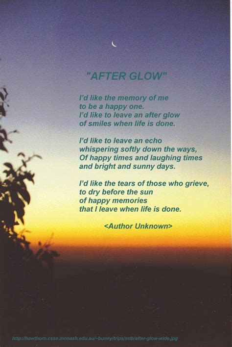 afterglow   quotes grief quotes   memorize