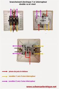 Double Va Et Vient : schema branchement interrupteur double va et vient debflex ~ Nature-et-papiers.com Idées de Décoration
