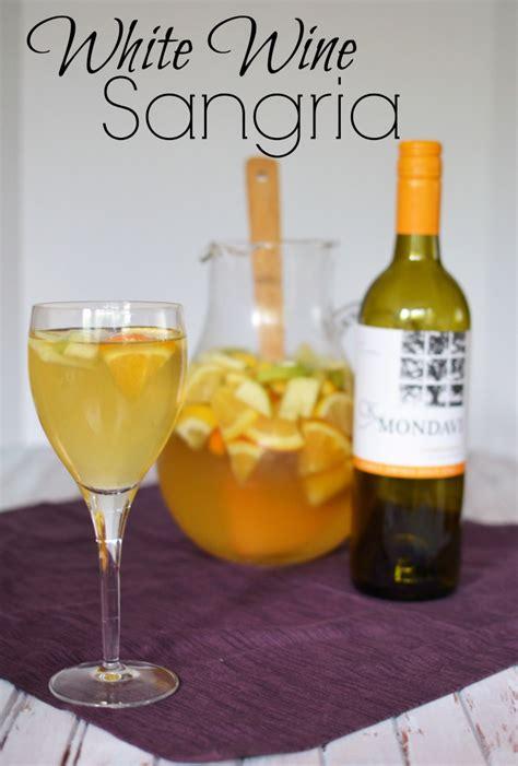 white wine sangria recipe white wine sangria simply darr ling