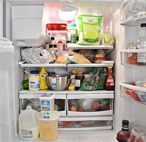 how to make your fridge look like a cabinet how to clean a fridge the 36th avenue