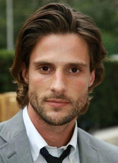 medium length hairstyles  men improb
