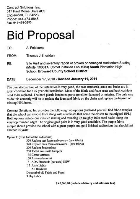 for bid bid template madinbelgrade