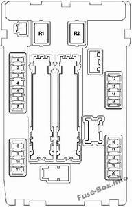 Fuse Box Diagram Nissan Teana  J32  2009