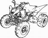 Atv Coloring Pages Raptor Wheeler Drawing Quad Four Yamaha Printable Sport Getcolorings Cool Rzr Drawings Ford Rap Getdrawings Paintingvalley Colorings sketch template