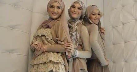 tips memakai jilbab sesuai bentuk wajah tutorial hijab