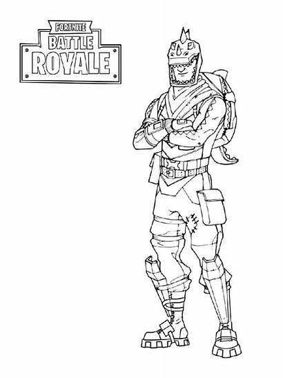 Fortnite Coloring Pages Boys Sheets Printable Colouring