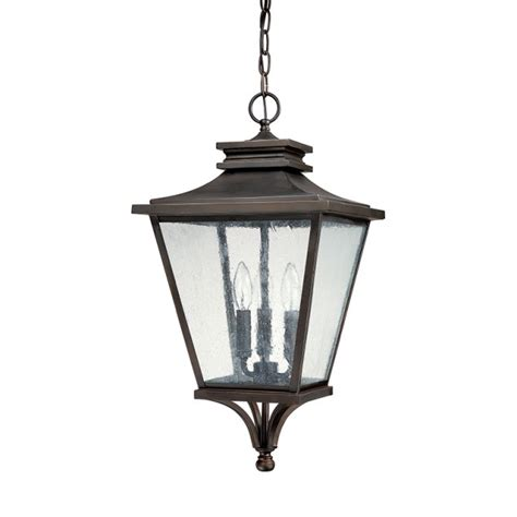 3 light outdoor hanging lantern capital lighting fixture