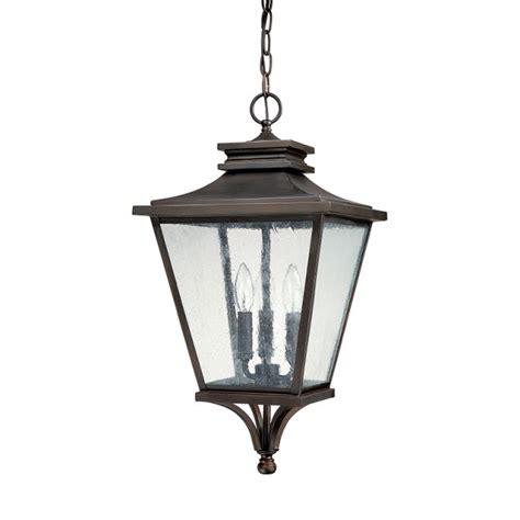 3 light outdoor hanging lantern capital lighting fixture