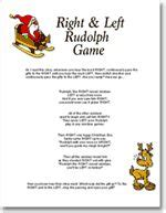 left and right and across christmas tale 1000 images about on gift exchange and